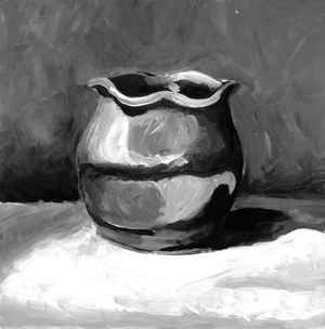 Untitlted, Ceramic Pot Study